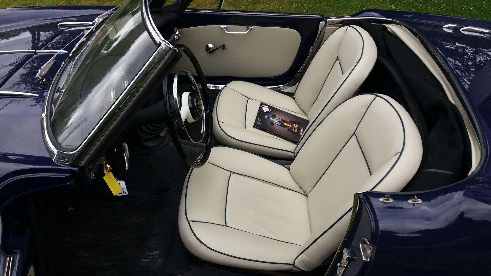 intérieur Alfa Giulietta Bernard 1959